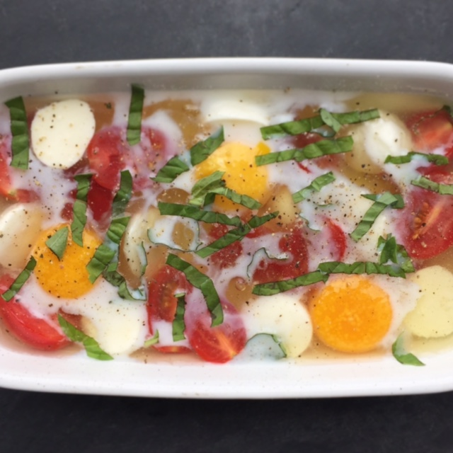 cappers baked eggs