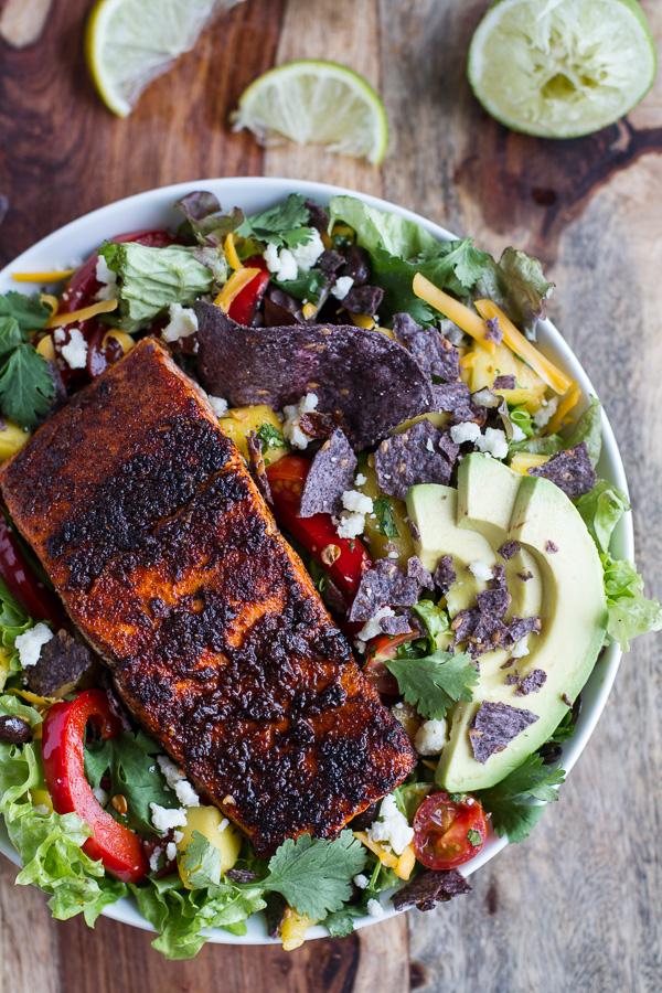 Chile-Lime-Salmon-Fajita-Salads-with-Cilantro-Lime-Vinaigrette.-5