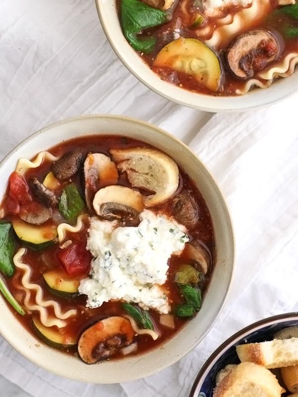 Slow-Cooker-Vegetarian-Lasagna-Soup-FoodieCrush.com-11